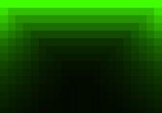 Grünes quadratisches Muster in der Farbe geometrisch vektor abbildung