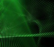 Grünes Rasterfeld Lizenzfreie Stockbilder