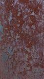 Grünes rostiges Metall Lizenzfreie Stockfotografie