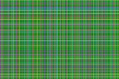 Grünes schottisches quadratisches Muster für Individualisten Lizenzfreie Stockbilder