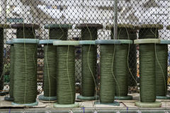 Grünes Seil Lizenzfreie Stockbilder