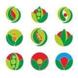 Grünes simbol Lizenzfreies Stockfoto