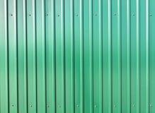 Grünes Stahlblech Stockbild