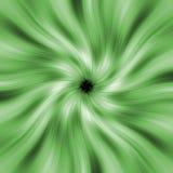 Grünes Strahlloch lizenzfreie abbildung