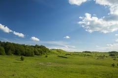 Grünes Tal Stockfoto