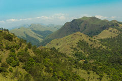 Grünes Tal-Ansicht Stockfotos