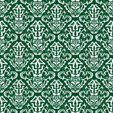 Grünes Tapetenmuster Lizenzfreies Stockfoto
