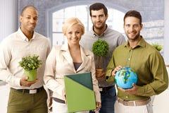Grünes Team Lizenzfreies Stockfoto
