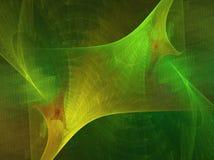 Grünes tiefes Stockbild