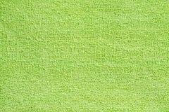 Grünes Tuch Stockfoto