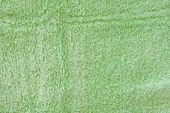 Grünes Tuch Lizenzfreie Stockfotografie
