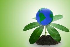Grünes Umweltkonzept Stockbild