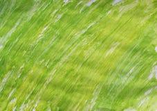 Grünes und gelbes gemaltes Papierstrukturiertes lizenzfreies stockbild
