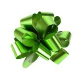 Grünes Verpackungsband lokalisiert auf Weiß Lizenzfreies Stockfoto