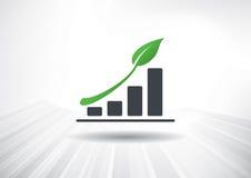 Grünes Wachstum Stockbild