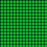 Grünes Webart-Muster Stockfotos