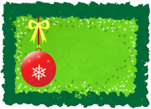 Grünes Weihnachten Lizenzfreies Stockbild