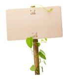 Grünes Zeichen Lizenzfreies Stockbild