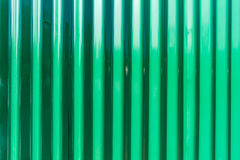 Grünes Zinkblech des Hintergrundes Stockbilder