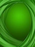 Grünhintergrund der Illustration 3d Stockfoto
