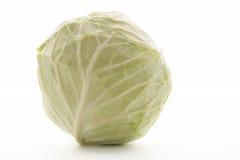Grünkohl auf weißem Hintergrund Stockfoto