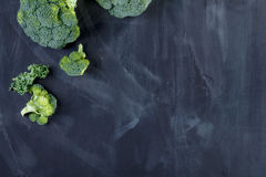 Grünkohl und Brokkoli Stockfotografie