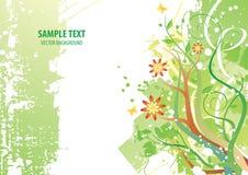 Grünpflanze-Hintergrund lizenzfreie abbildung