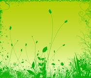 Grünpflanzen stock abbildung