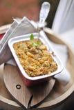 Grützen für das Mittagessen Geschmackvolles und gesundes Lebensmittel Kopieren Sie Platz lizenzfreies stockfoto
