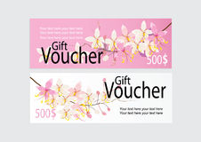Grępluje lub oznacza dla marketingowej promoci z różowymi kasjami kwitnie projekt Fotografia Stock