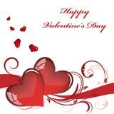 grępluje mój portfolio valentines powitanie Zdjęcie Stock