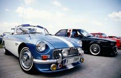 GR.-altes Auto stockbilder