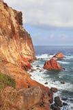 grå stor röd rock arkivfoto