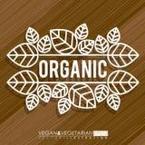 2014 11 15 GR 788 BIG. Food design over brown background, vector illustration Stock Photography