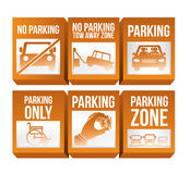 2014 11 15 GR 786 BIG. Parking design over white background, vector illustration royalty free illustration