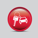 2014 11 15 GR 786 BIG. Rent a car design over gray background, vector illustration royalty free illustration