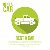 2014 11 15 GR 786 BIG. Rent a car over white background, vector illustration vector illustration