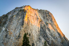 Gr Capitan in het Nationale Park van Yosemite Royalty-vrije Stock Afbeeldingen