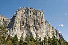 Gr Capitan in Yosemite Stock Foto's