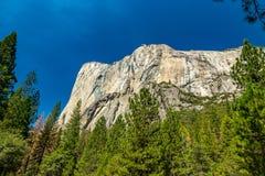 Gr Capitan Yosemite royalty-vrije stock afbeelding