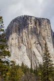 Gr Capitan - Yosemite-Vallei II Royalty-vrije Stock Foto's