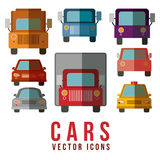 2014 11 07 GR 778. Car design over white background, vector illustration stock illustration