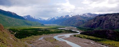 Gr Chalten Patagonië royalty-vrije stock foto's