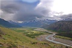 Gr Chalten Patagonië Stock Fotografie