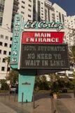 Gr Cortez Sign in Las Vegas, NV op 21 April, 2013 Royalty-vrije Stock Afbeelding