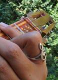 Gr Cuatro, Venezolaans muzikaal instrument Royalty-vrije Stock Foto