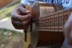 Gr Cuatro, Venezolaans muzikaal instrument Royalty-vrije Stock Afbeelding
