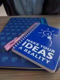 Gör dina idéer en verklighet Arkivbild