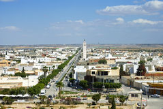 Gr Djem is een stad in Tunesië Royalty-vrije Stock Afbeelding