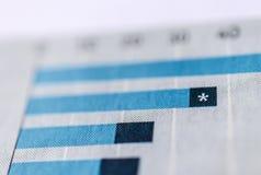 Gr?ficos y cartas Macro imagen de archivo libre de regalías